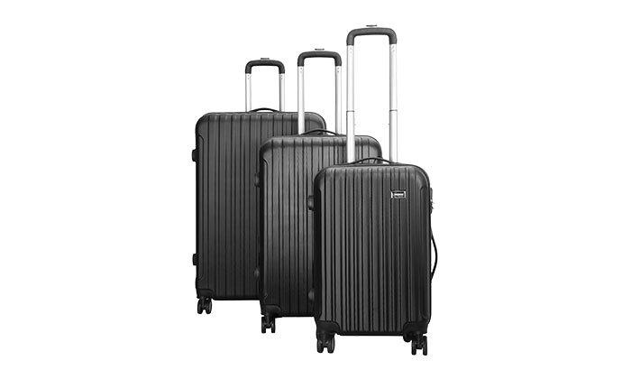 3 סט 3 מזוודות קשיחות AMRICANTRAVELER
