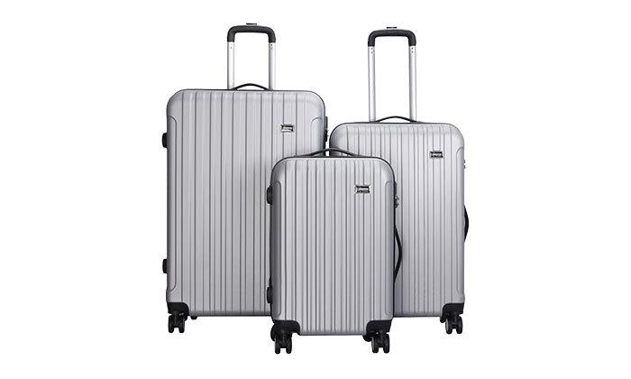 2 סט 3 מזוודות קשיחות AMRICANTRAVELER