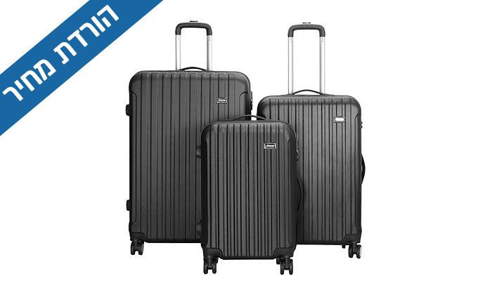 5 סט 3 מזוודות קשיחות AMRICANTRAVELER