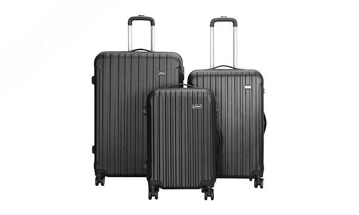 6 סט 3 מזוודות קשיחות AMRICANTRAVELER