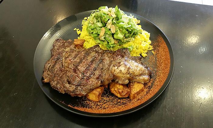 2 ארוחה בשרית במסעדת צנעני הכשרה, בני ברק