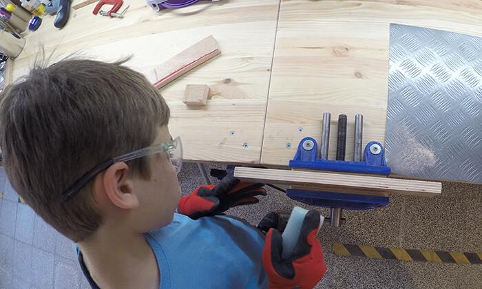 1 סדנאות יצירה עם כלי עבודה לילדים ולמבוגרים בתל אביב