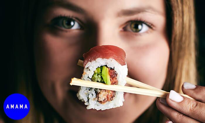 7 GROO PREMIUM: ארוחת שף זוגית במסעדת AMAMA היפנית מבית TYO, רמת החייל