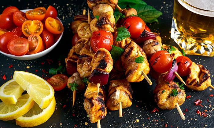 5 ארוחה בשרית במסעדת מלך השיפודים, ההגנה תל אביב