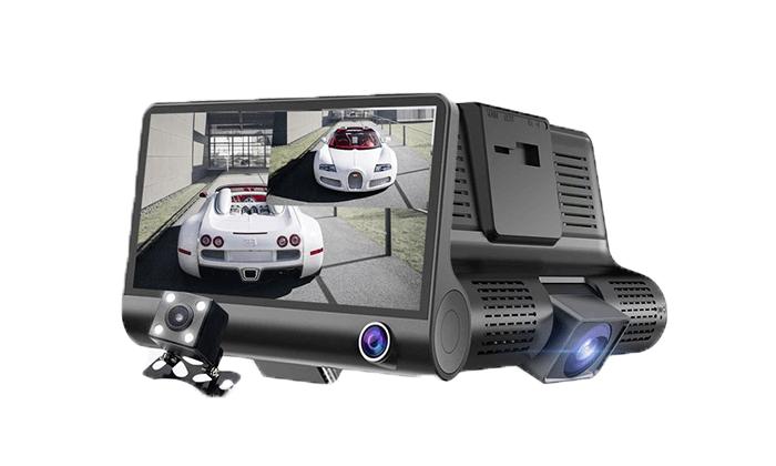 4 מצלמת רכב דו כיוונית