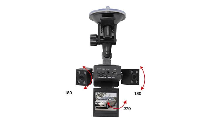 5 מצלמת רכב דו כיוונית