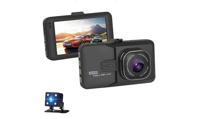 2 מצלמת רכב דו כיוונית
