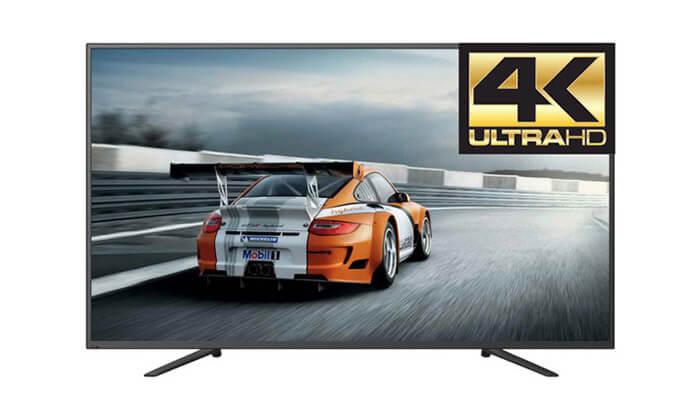 2 טלוויזיה פירלס SMART 4K, מסך 55 אינץw