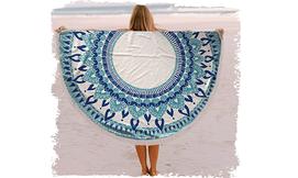 מגבת חוף עגולה ענקית