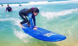 קייטנת גלישה לקיץ, חוף הצוק