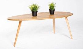 שולחן סלון בצורת טיפה