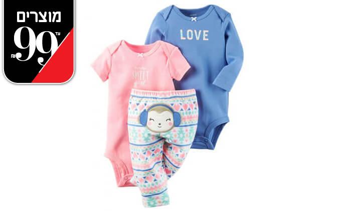 3 סט בגדים לתינוקCarter's