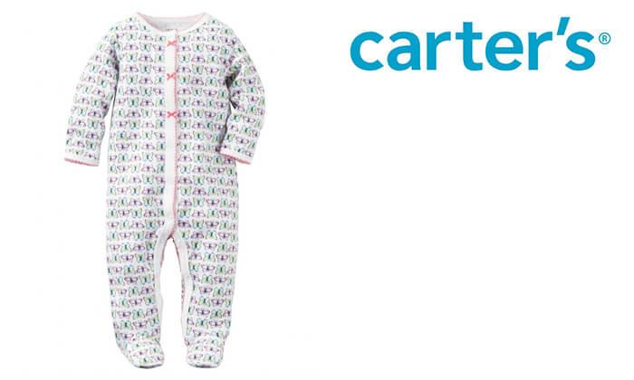 2 פיג'מת כותנה לתינוק Carter's