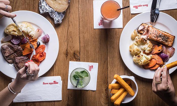 4 דיל חגיגת קיץ: ארוחה זוגית במסעדת טיטו איטליאנו, גבעתיים