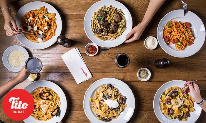9 דיל חגיגת קיץ: ארוחה זוגית במסעדת טיטו איטליאנו, גבעתיים