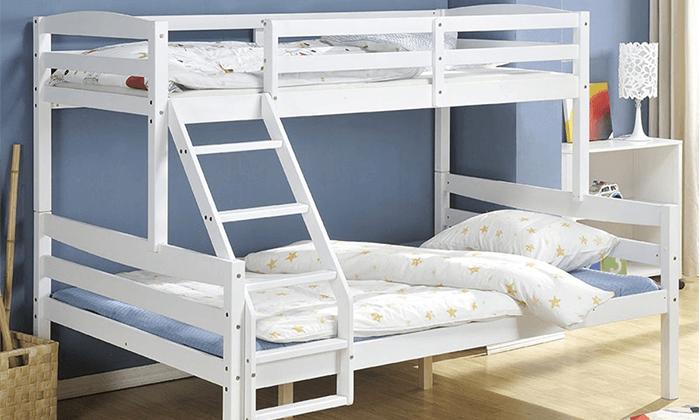 2 מיטת קומותיים לילדים ונוער ברדקס - BRADEX