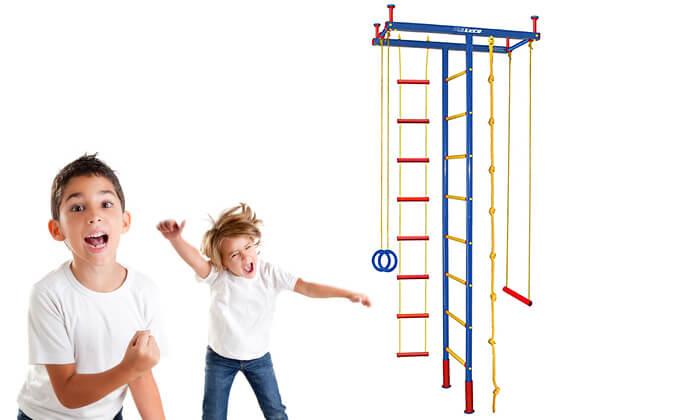 2 מתקן ספורט לילדים