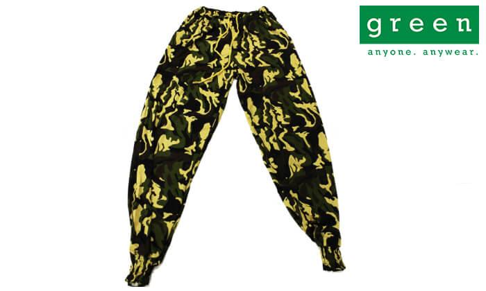 3 מכנסי שרוואל ארמי גרין Green