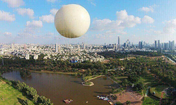 4 מחיר מיוחד עד חצות: טיסה בכדור פורח TLV Balloon, בפארק הירקון