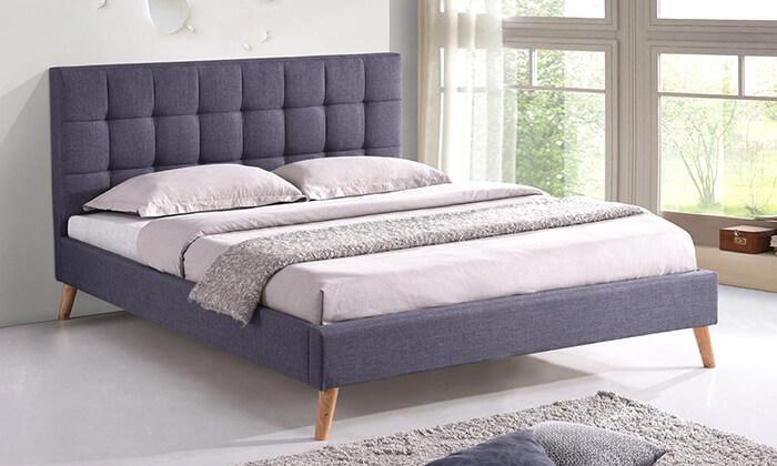 4 מיטה זוגית מרופדת
