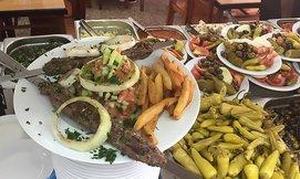 ארוחה זוגית במסעדת פרג'