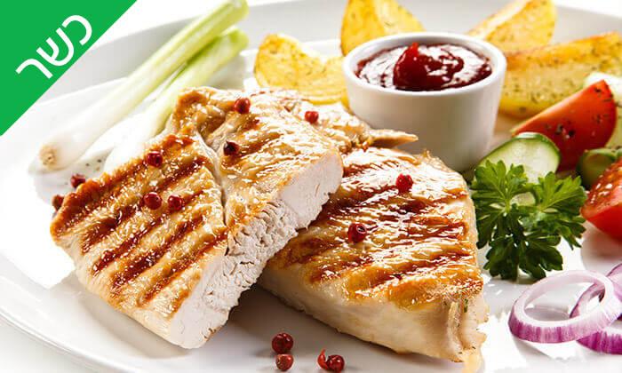 5 ארוחה בשרית כשרה במסעדת עולם האוכל, חיפה