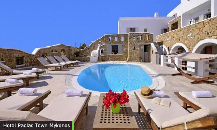 """9 דיל חגיגת קיץ: חופשה במיקונוס, האי הקסום ביותר ביוון, כולל סופ""""ש"""