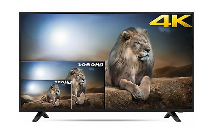 2  טלוויזיה Peerless חכמה 4K מסך 50 אינץ'