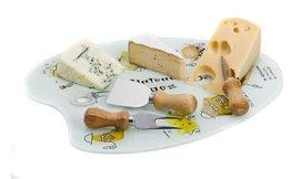 סט להגשה וחיתוך גבינות