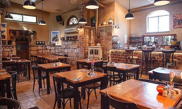 9 דיל חגיגת קיץ: ארוחת בופה במסעדת מקום בלב, רעננה