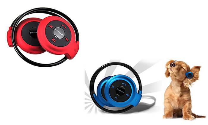 2 אוזניות בלוטוס on ear