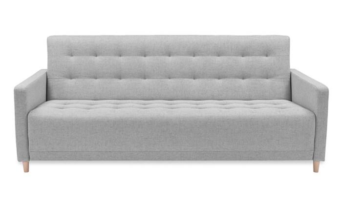6 שמרת הזורע: ספה תלת מושבית נפתחת למיטה