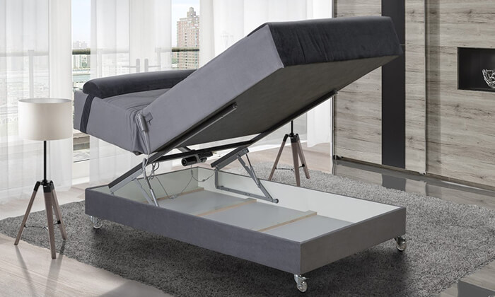 3 מיטה ברוחב וחצי חשמלית אורטופדית