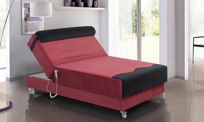 2 מיטה ברוחב וחצי חשמלית אורטופדית