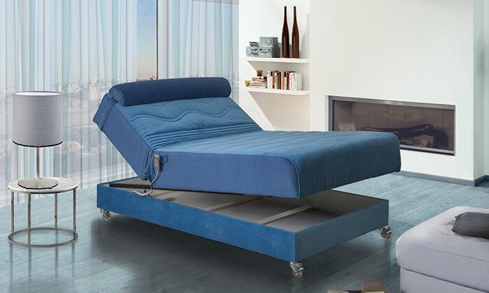 4 מיטה ברוחב וחצי חשמלית אורטופדית