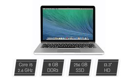 Apple MacBook עם מסך ''13.3