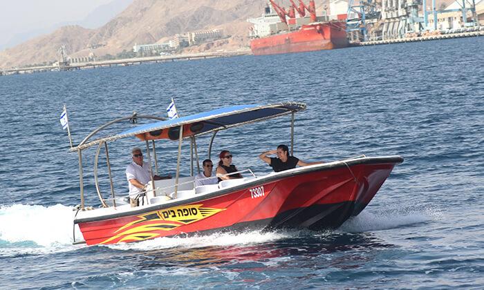 3 שייט בסירה מהירה - ישראל ים, אילת