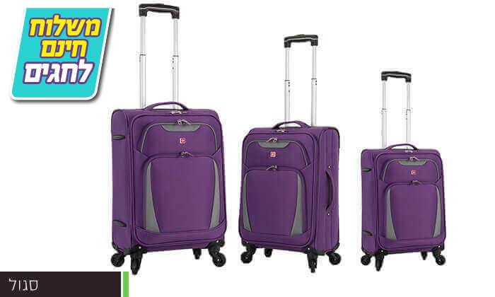 3 סט 3 מזוודות SWISS