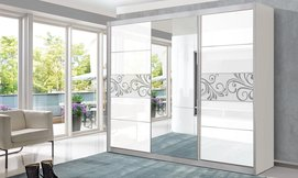 ארון הזזה 3 דלתות עם מראה