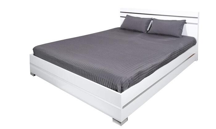 4 מיטה זוגית מעוצבת Rosseto תוצרת איטליה