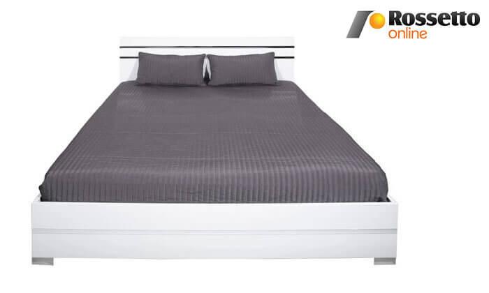 2 מיטה זוגית מעוצבת Rosseto תוצרת איטליה