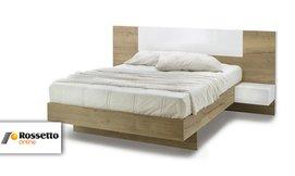 מיטה זוגיתעם 2 שידות תלויות