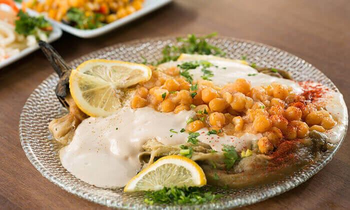 4 ארוחה זוגית במסעדת אבו זאקי בבן יהודה