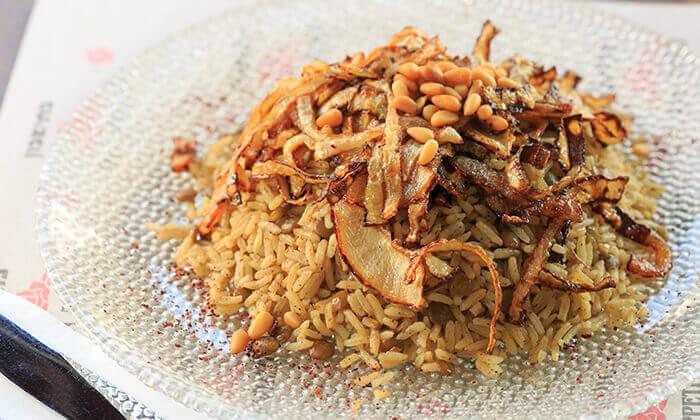 6 ארוחה זוגית במסעדת אבו זאקי בבן יהודה