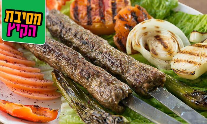 7 ארוחה זוגית במסעדת אבו זאקי בבן יהודה