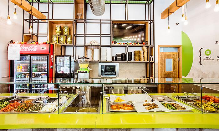 7 מנת חומוס במסעדת בית הפול הכשרה, אשדוד