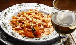 ארוחה איטלקית זוגית בקפה נמרוד