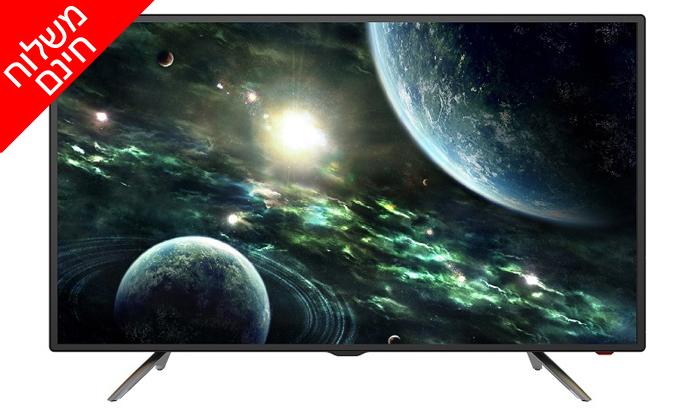2 טלוויזיה VEGA, מסך 43 אינץ' - משלוח חינם