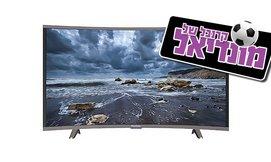 טלוויזיה קעורה 55'' PEERLESS