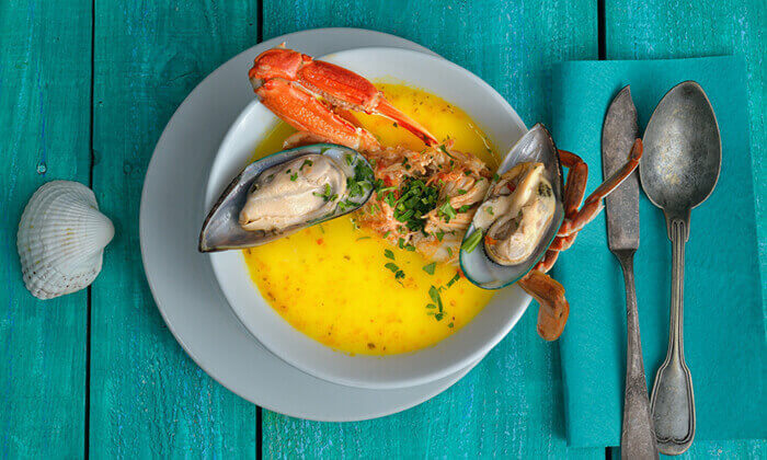 4 ארוחת דגים במסעדת פלמידה, רמת גן